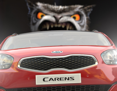 KIA CARENS WITH THE CROODS