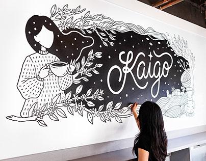 Kaigo Cafe Mural