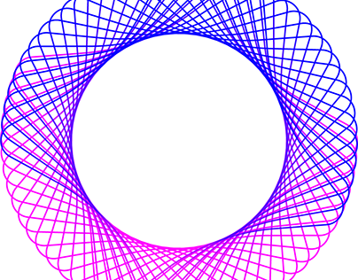 Spirograph Style Effect