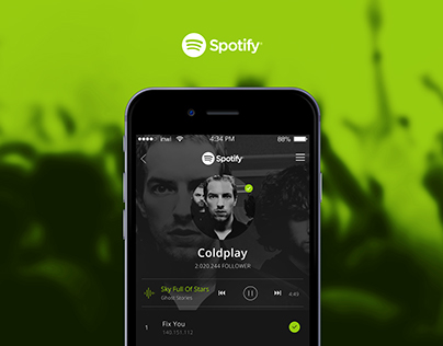 Spotify UI Concept