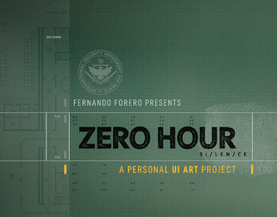 ZERO HOUR: PERSONAL UI ART PROJECT