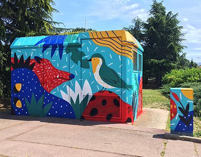 Mural / Palautordera