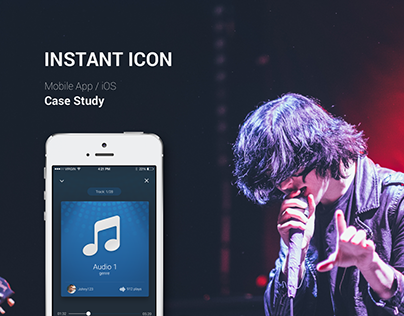 Instant Icon. Mobile App Case Study