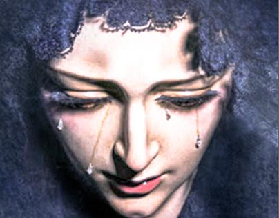 Retrato digital - Virgen de Dolores