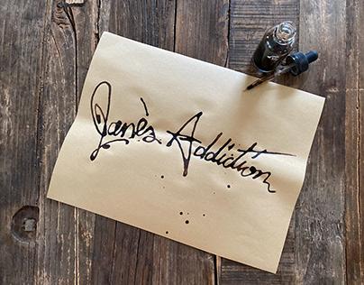 Jane's Addiction logo refresh