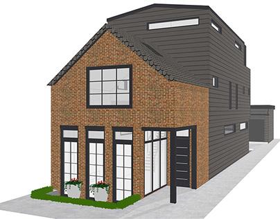 831 Fairfield - Conceptual Single Family Home