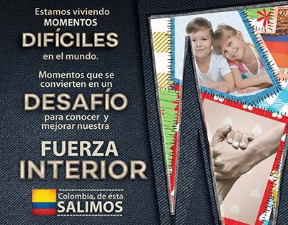 Image graphique: Campagne de marque en Colombie -