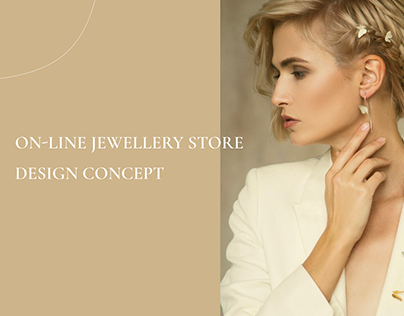 On-line jewellery store design concept