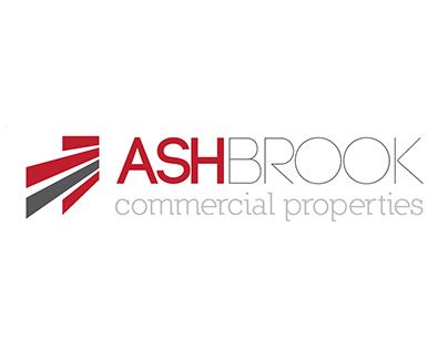 Ash Brook Commercial Property company logo concept