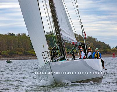 Sailing in Newport Harbor, Oct 2020
