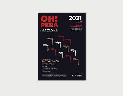 Opera Event Poster
