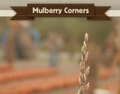 Mulberry Corners Website design