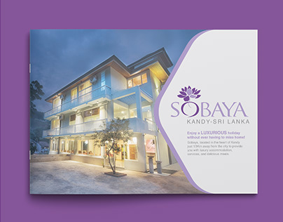 Sobaya Booklet Design