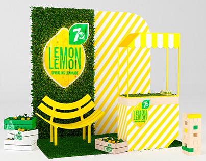 7up Lemon Lemon Corner. METRO EXPO 2018