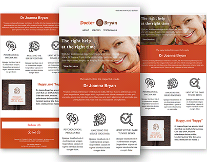 Mailchimp - Email Template Design
