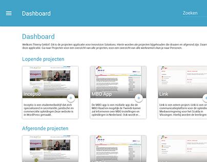 IVS Projecten App redesign