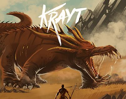 KRAYT - Visual Branding & Cover Art