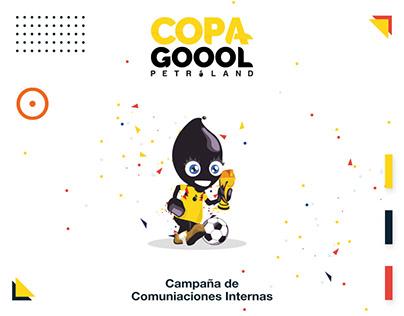 CopaGol Campaña de comunicación interna -Braco Estudio