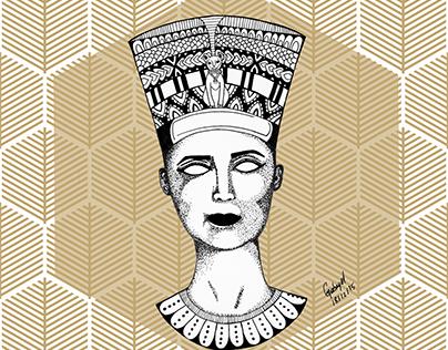 Nefertiti;Vênus de Milo; Monalisa.
