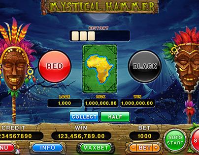 """Online slot machine – """"Mystical Hammer"""""""