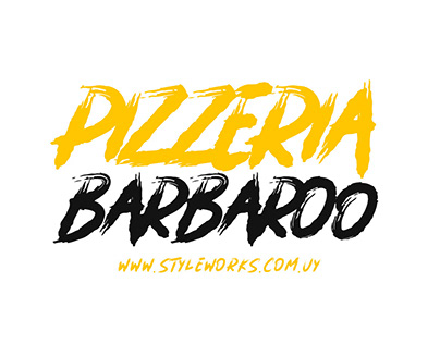 Graphic Design - Pizzeria Barbaro