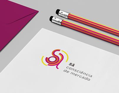 Naming and Branding for Sã Consciência de Mercado