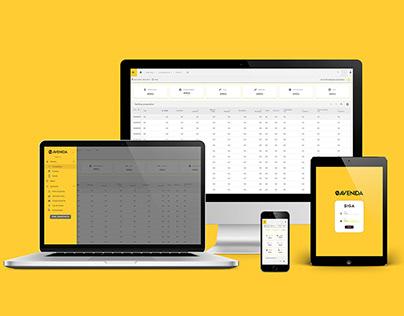 Dashboard & App - UX/UI