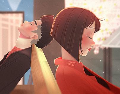 LOVE & illustration 05