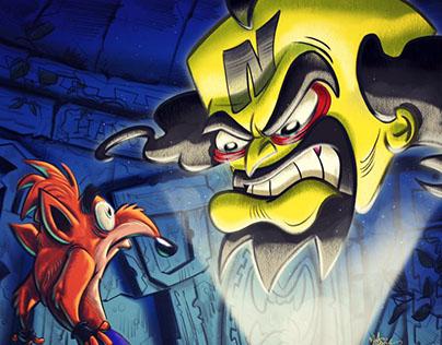 Crash Bandicoot 2; Cortex Strikes Back tribute