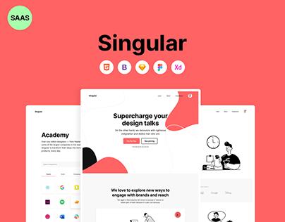 Singular ⚡️ SAAS Template