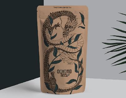 Illustration & lettering for tea packaging
