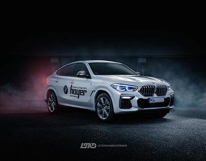 BMW X6 M50d Automotive Photography
