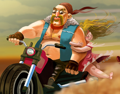 Badass Biker