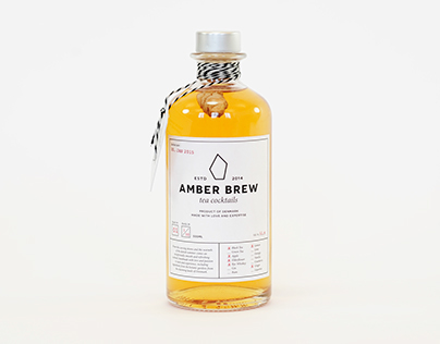 Amber Brew - Tea Cocktails