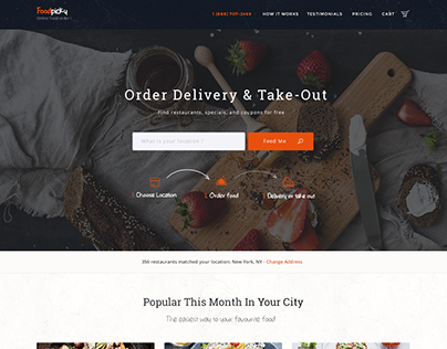 Order Delivery & Take-Out theme