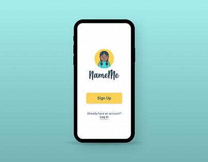 NameMe app