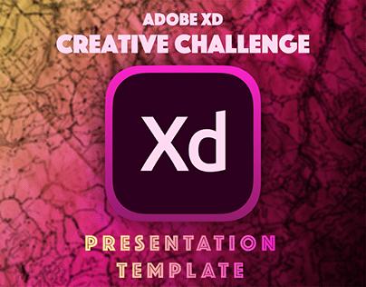 XD Creative Challenge: Presentation Template
