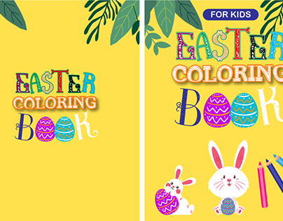 Easter Coloring BookIIMotion Graphics  Book Trailer