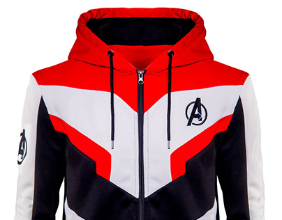 Avengers Endgame Quantum Realm Wool Jacket
