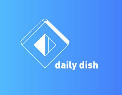 Daily Dish // Web Design