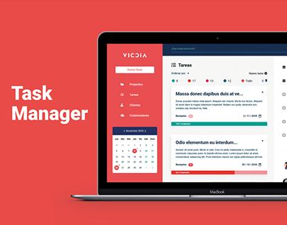 Task Manager, UI/UX Design