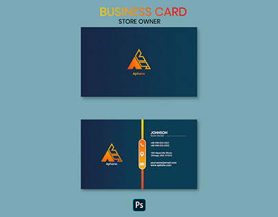 Store Owner Business card