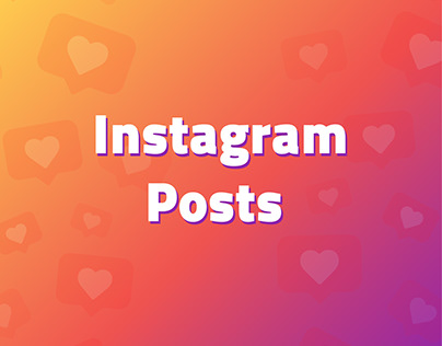 Instagram posts for a distance education institution