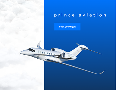 Prince Aviation - Website redesign