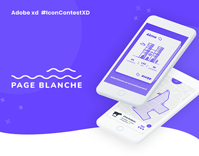 Page Blanche - Your Creative City App (#IconContestXD)