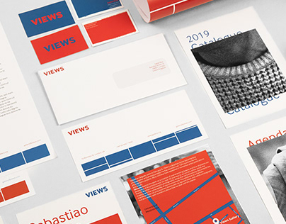Corporate Identity project: VIEWS gallery