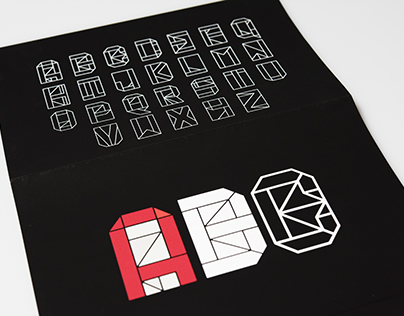 Orizuru: A typeface inspired by Japanese craft.