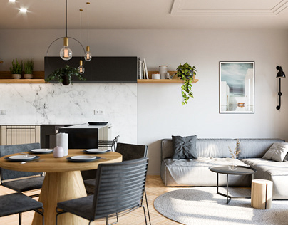stylish interior visualizations