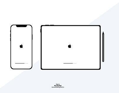 iPhone XR & iPad Pro Mockup