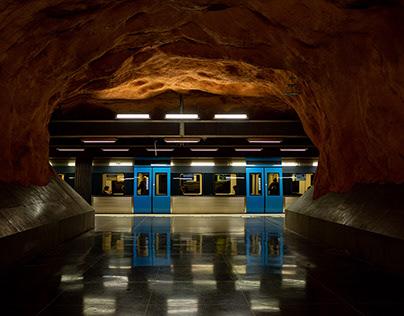 Stockholm subway stations